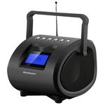 Аудиомагнитола Rolsen RBM412BL Black