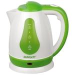 Электрочайник SCARLETT SC-EK18P30 White/green