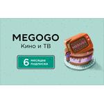 MEGOGO Кино и ТВ, подписка на 6 месяцев