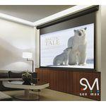 Экран настенный Seemax Classic MW 305x237 см (4:3, ДУ IR, поле 295x221 см)