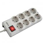 Сетевой фильтр SVEN Surge Protector Optima Pro 3,1 m Beige-Grey