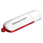 2GB USB Drive Silicon Power Luxmini 320 (SP002GBUF2320V1W) White