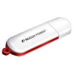 8GB USB Drive Silicon Power LuxMini 320 (SP008GBUF2320V1W) White