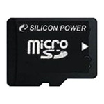 Карта памяти 2GB MicroSD Silicon Power SP002GBSDT000V10-SP
