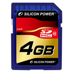 Карта памяти 4Gb Silicon Power SP004GBSDH010V10