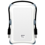 Внешний жесткий диск Silicon-Power Armor A30 1TB White (SP010TBPHDA30S3W)