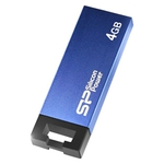 4GB USB Drive Silicon Power Touch 835 (SP004GBUF2835V1B) Blue-Black