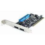 Контроллер ST-Lab A-230 SATA150 & ATA133,int 1SATA 1IDE, 2SATA ext RAID 0/1 (VIA 6421), PCI, Retail