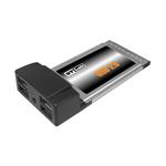 Контроллер ST-Lab C-112 PCMCIA/Cardbus USB 2,0 4port Adapter ,Retail