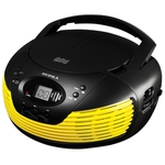 Аудиомагнитола Supra BB-CD120U Yellow/Black