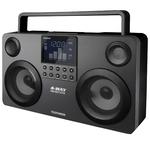 Аудиомагнитола Telefunken TF-SRP3470B Grey