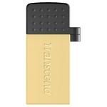 16GB USB Drive Transcend JetFlash 380G (TS16GJF380G) Gold