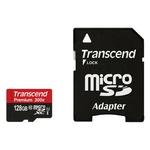Карта памяти Transcend microSDXC UHS-I 300x Premium (Class 10) 128GB (TS128GUSDU1)