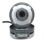Вебкамера Dialog WC-01U Silver