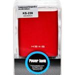 Внешний аккумулятор KS-is KS-239 Red