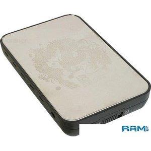 Бокс для жесткого диска AgeStar 3UB3A8 Silver