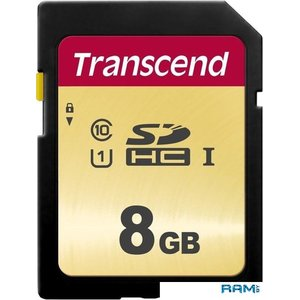 Карта памяти Transcend SDHC 500S 8GB TS8GSDC500S