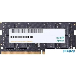 Оперативная память Apacer 4GB DDR4 SODIMM PC4-21300 AS04GGB26CQTBGH