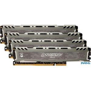Оперативная память Crucial Ballistix Sport LT 4x8GB DDR4 PC4-25600 BLS4K8G4D32AESBK