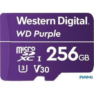 Карта памяти WD Purple WDD256G1P0A microSDXC 256GB