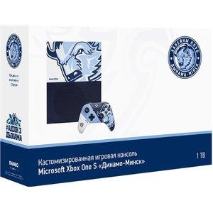 Игровая приставка Microsoft Xbox One S 1TB КХЛ Динамо-Минск