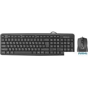 Мышь + клавиатура Defender Dakota C-270 RU