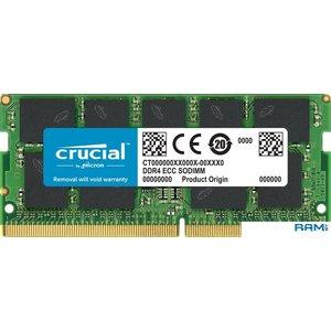 Оперативная память Crucial 16GB DDR4 PC4-21300 CT16G4TFD8266