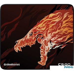 Коврик для мыши SteelSeries QcK+ Limited CS:GO Howl Edition