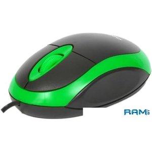 Мышь Omega OM-06 (черный/зеленый)