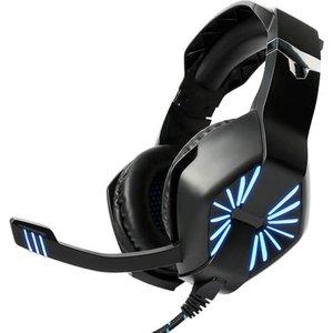 Наушники Maono AU-A1 (черный, голубая подсветка)
