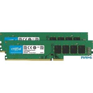 Оперативная память Crucial 2x4GB DDR4 PC4-25600 CT2K4G4DFS632A