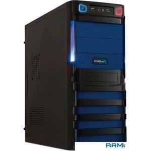 Корпус CrownMicro CMC-SM162 (черный/синий) 450W