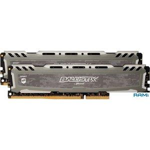 Оперативная память Crucial Ballistix Sport LT 2x8GB DDR4 PC4-19200 BLS2K8G4D240FSBK