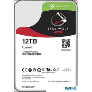 Жесткий диск Seagate IronWolf 12TB ST12000VN0008