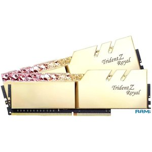 Оперативная память G.Skill Trident Z Royal 2x8GB PC4-35200 F4-4400C18D-16GTRG