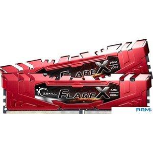 Оперативная память G.Skill Flare X 2x16GB DDR4 PC4-19200 F4-2400C16D-32GFXR