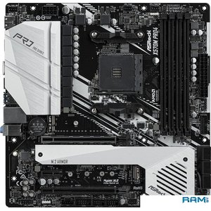Материнская плата ASRock X570M Pro4