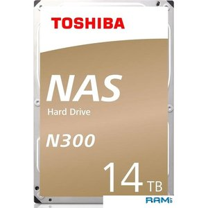 Жесткий диск Toshiba N300 14TB HDWG21EEZSTA