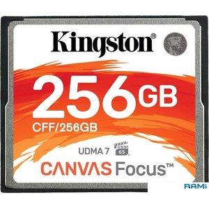 Карта памяти Kingston Canvas Focus CFF/256GB CompactFlash 256GB