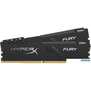 Оперативная память HyperX Fury 2x8GB DDR4 PC4-19200 HX424C15FB3K2/16