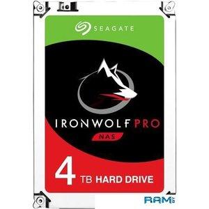 Жесткий диск Seagate IronWolf Pro 4TB ST4000NE001