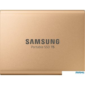 Внешний накопитель Samsung T5 1TB (розовое золото)