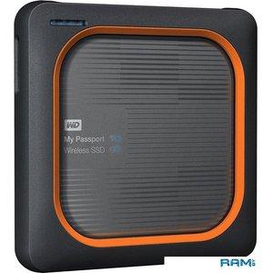 Внешний накопитель WD My Passport Wireless 500GB WDBAMJ5000AGY