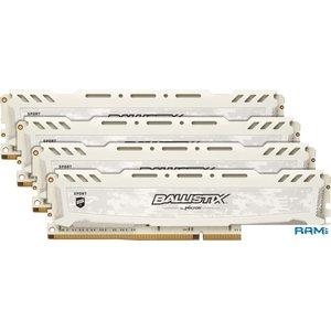 Оперативная память Crucial Ballistix Sport LT 4x16GB DDR4 PC4-25600 BLS4K16G4D32AESC