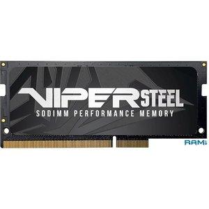 Оперативная память Patriot Viper Steel 16GB DDR4 SODIMM PC4-21300 PVS416G300C8S