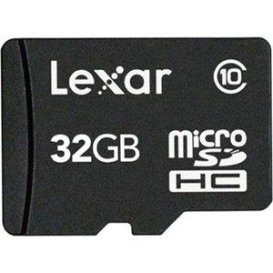 Карта памяти Lexar LFSDM10-32GABC10 microSDHC 32GB