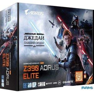 Материнская плата Gigabyte Z390 Aorus Elite (код на Звездные войны Джедаи: Павший орден)