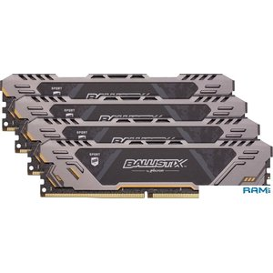 Оперативная память Crucial Ballistix Sport AT 4x16GB DDR4 PC4-25600 BLS4K16G4D32AEST