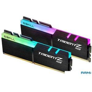 Оперативная память G.Skill Trident Z RGB 2x16GB DDR4 PC4-28800 F4-3600C16D-32GTZRC
