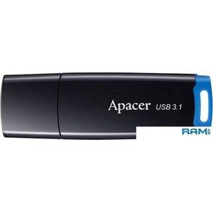 USB Flash Apacer AH359 64GB (черный/синий)